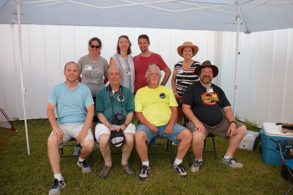 HCAS Eclipse Group Photo