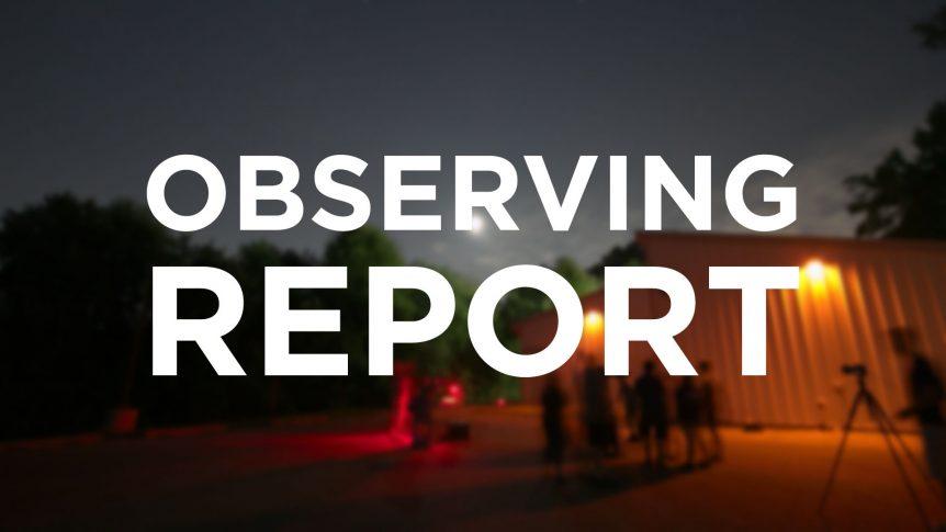 Observing Report